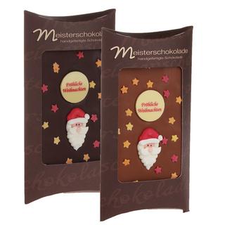 belgische schokolade mit weihnachtsmann meisterschokoladen. Black Bedroom Furniture Sets. Home Design Ideas